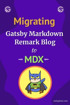 In this short but informative blog post, I'll share some of my experiences of moving from a regular Gatsby Markdown Remark blog to MDX.
