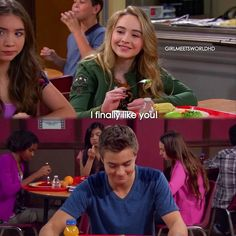 "#GirlMeetsWorld 2x03 ""Girl Meets the Secret of Life"""