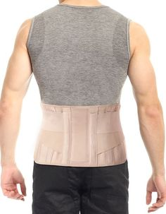 Lumbar Support Back Brace #HowToGetRidOfBackPain