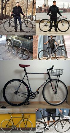 Basket Case Fixed Gear #Fixedgear #Fixie #Bikes #Bicycles