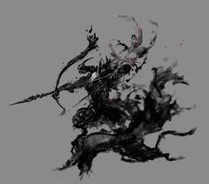 Castlevania Lords of Shadow 2 Agreus Sketch, Jorge Benedito on ArtStation at https://www.artstation.com/artwork/castlevania-lords-of-shadow-2-agreus-sketch