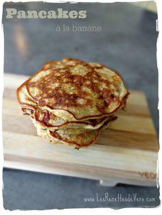 Pancakes banane sansgluten sanslait