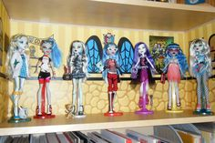 Free Printable Monster High Dollhouse | the classroom doll boxes so my dolls didn t look like they were just ...