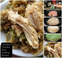 Check out our super easy Crockpot Chicken and Stuffing Recipe! We have perfectly the technique for light and fluffy stuffing mixed with chicken breasts!