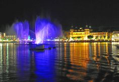 Klangwelle Wörthersee Wasserspiele Carinthia, Hotels, Heart Of Europe, In The Heart, Austria, Northern Lights, Nature, Travel, Water Games