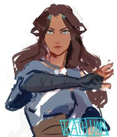 Katara was pretty as a teenager, but grown up, somehow, she became 100x prettier. Puberty, please hit me too? xD?