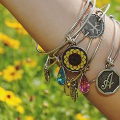 ALEX AND ANI CHARITY BY DESIGN SUNFLOWER BANGLE!