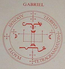 LA ORDEN DE LOS ÁNGELES : INVOQUEMOSLOS: EL SELLO DEL ARCANGEL GABRIEL