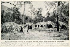 1938 Print Aboriginal Village Queensland Australia, credit Period Paper Aboriginal Culture, Aboriginal People, Aboriginal Art, Australian Aboriginal History, Australian Aboriginals, Queensland Australia, Western Australia, Ocean Photography, Photography Tips