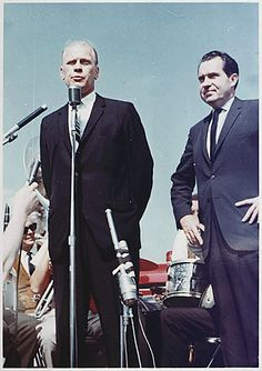 Representative Gerald R. Ford campaigns with former Vice President ...