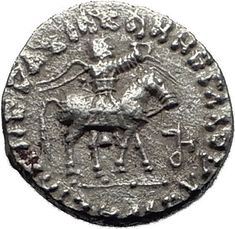Item specifics     Composition:   Silver   Material:   Silver     Culture:   Greek   Coin Type:   Ancient      Jesus Christ Birth Magii Azes II on Horse 35BC Ancient Silver Greek...