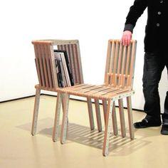 """""""Redo-me""""(redo:rehacer),del arquitecto Paredes-Pino.               Son kits,que existen en tres tamaños, que llevan cinco esquadras,seis regletas,seis piezas redondas y sus tornillos correspondientes,en un sistema que permite montar fácilmente muebles hechos casi a medida.Y las combinaciones son infinitas."""