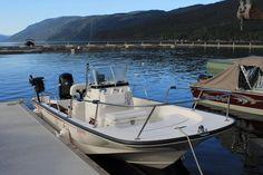 I love my @Boston_Whaler. The 170 #Montauk is a great #fishingplatform @mpmercury @MercuryEngines #familyfun
