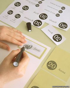 how to do print transfers from Martha Stewart - surely useful for some of the stationery pieces
