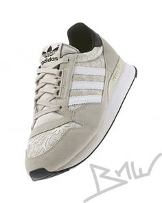 Adidas - ZX 500 OG FLOWER - Runner - Low Top Sneaker - Beige / Weiß