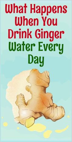 What Happens When You Drink Ginger Water Every Day #gingerwater Healthy Juice Recipes, Healthy Detox, Healthy Juices, Healthy Mind, Healthy Drinks, Detox Drinks, How To Stay Healthy, Healthy Habits, Healthy Brain
