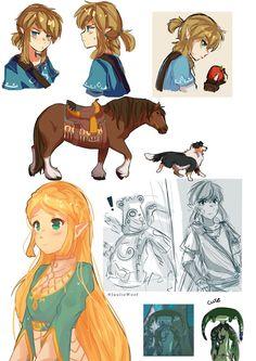 BOTW Sketch by JuulieWoof