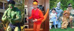 Serienstars und ihre Halloweenkostüme 2012