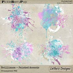 Brilliance - Painted Accents By Laitha's Designs