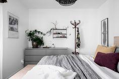 Two grey Ikea 'Malm' dressers