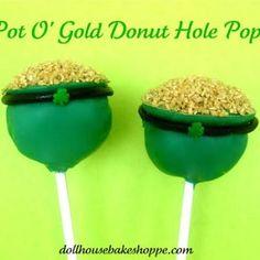 Pot o' gold cakepops