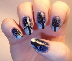 Winter Nails - Winter Christmas Nail Art