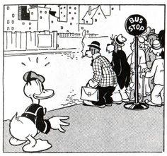 Donald Duck Newspaper Comic By Al Taliaferro, February 11, 1938 Donald  Duck, February