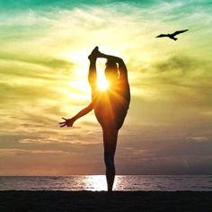 Yoga. Asana. Beach Yoga with Kerri Verna.