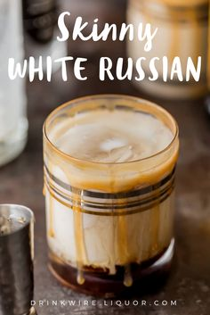 Whether it bemargaritas,sangria, ormartinis, it's nice to have a skinnier version to fall back on when you don't want to drink ALL of your calories for one day! This Skinny White Russian is the perfect cocktail to satisfy your sweet tooth with none of the guilt!