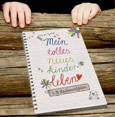 Kindertagebuch mit WochenAufgaben Ringbindung von OneOfTheGoodOnes, €13.99