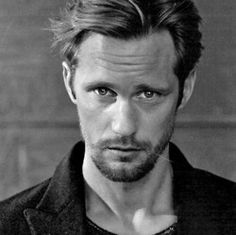 Alexander Skarsgaard-- he's really pretty.  So glad True Blood is starting up again!!!