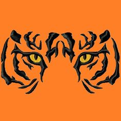 Tiger Eyes fill Embroidery Designs 3 sizes by LunaEmbroidery, $2.99