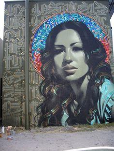 street art is chalk art gone verticle