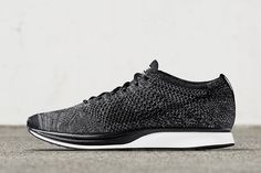 NikeLab Drops the Flyknit Racer in 'Black/Dark Grey' - EU Kicks Sneaker Magazine