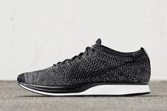 NikeLab Drops the Flyknit Racer in 'Black/Dark Grey' - EU Kicks Sneaker Magazine