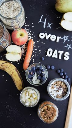 Health Consequences and Benefits of High Carbohydrate Diets - Tricks of healthy life Superfood, Overnight Oats, The Breakfast Club, Vegan Vegetarian, Healthy Lifestyle, Sweet Treats, Vegan Recipes, Clean Eating, Food And Drink