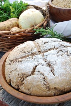 Anglo-Saxon Pottage and Maslin Bread