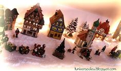Xmas village... in my home!