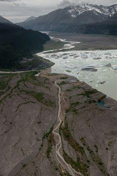 Start of the Nizina River