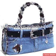 denim bags from jeans - Google Search
