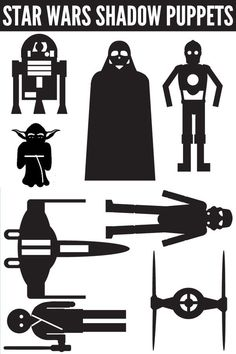 Star Wars Activity Ideas: Shadow Puppets Printable   Childhood101
