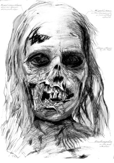 Picture for our Zombie T-Shirt. It will by available soon. Drawn bei Jean-Marv