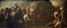 Moisés haciendo brotar el aguan de la roca //  Water From the Rock//  Bartolomé Esteban Murillo // #Moses
