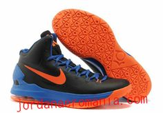 info for 9fbb5 b8a37 Buy Latest Listing Black Blue Orange 554988 048 Nike Zoom KD V 5 Basketball  Shoes Shop