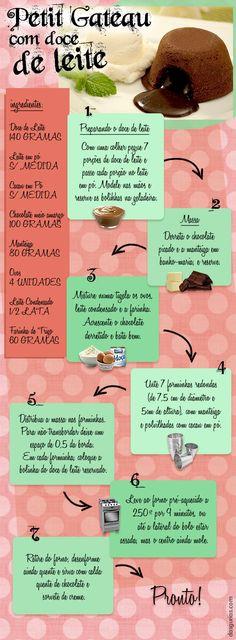 Aqui vai uma receita super rápida, prática e acima de tudo deliciosa, Petit Gateau com doce de leite. Já faz um bom tempo que achei essa receita em algum site, e nunca me arrisquei fazer, mas é uma…