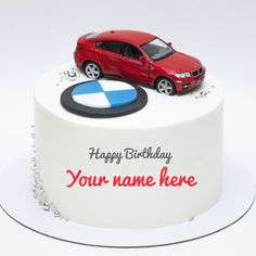 Birthday Cake For Brother, Birthday Cake Write Name, Birthday Msgs, Birthday Cake Writing, Cake Name, Car Birthday, Funny Happy Birthday Greetings, Birthday Greetings For Daughter, Birthday Wishes Greeting Cards