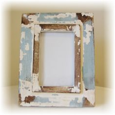 Shabby Chic Picture Frame by ThePolishedPear on Etsy, $15.00