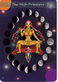 Kingdom Within tarot #high priestess