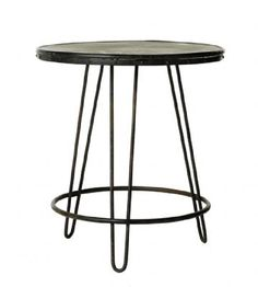 Tables GE Florence Round Table Black
