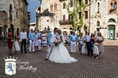 Clare & Peter in San Gimignano!